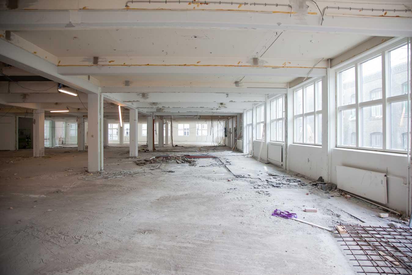 Bygningsrenovering og restaurering